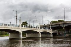 Мост Hoddle, Мельбурн/Австралия Стоковые Изображения RF