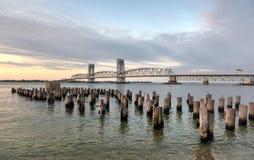 Мост Hodges морского бульвара-Gil мемориальный - ферзи, NY Стоковое Изображение