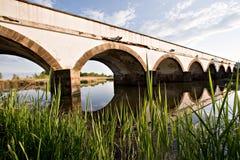 мост hortobagy Стоковые Фото