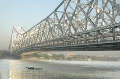 мост howrah стоковое изображение