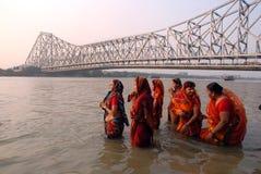 мост howrah стоковое фото rf