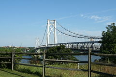 мост hudson средний Стоковая Фотография RF