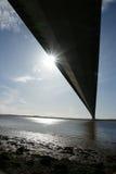 Мост Humber, Кингстон на корпусе Стоковые Изображения RF