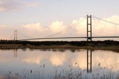 Мост Humber, Кингстон на корпусе Стоковое фото RF