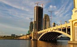 Мост i Putrajaya Стоковое Изображение RF