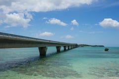 Мост Ikema стоковое фото rf