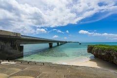 Мост Ikema Стоковое Изображение RF