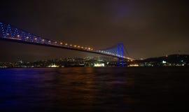 мост istanbul bosphorus Стоковые Изображения
