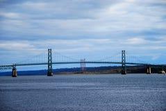 Мост Jacques Cartier, Монреаль стоковая фотография