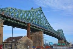 Мост Jacques Cartier Стоковые Изображения