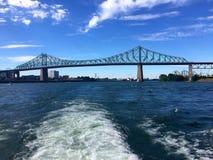 Мост Jacques Cartier Стоковое фото RF