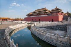 Мост Jinshui музея национального дворца Пекина стоковое изображение