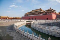 Мост Jinshui музея национального дворца Пекина стоковая фотография