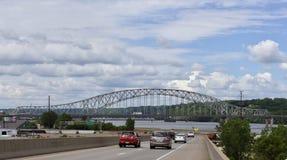 Мост Julien Dubuque Стоковая Фотография RF