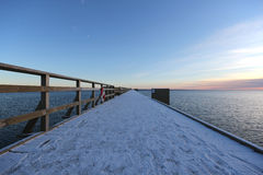 Мост Kalmar Швеции Стоковое Фото