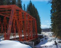 Мост Keivisville стоковое фото