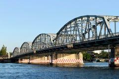 Мост Krung Thon (Zanghi), Бангкок Стоковые Изображения RF