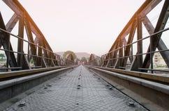 Мост kwai реки Стоковые Изображения