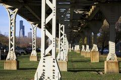 мост l поезд ног Стоковое фото RF