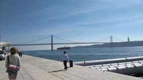 мост lisbon Стоковая Фотография RF