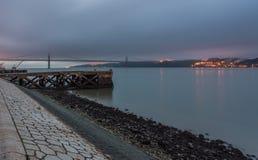 мост lisbon Стоковые Фото