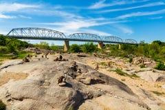 Мост Llano Техаса Стоковые Изображения RF