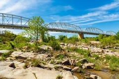 Мост Llano Техаса Стоковая Фотография