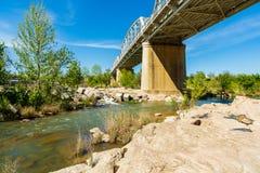 Мост Llano Техаса Стоковое Изображение