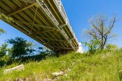 Мост Llano Техаса Стоковое фото RF
