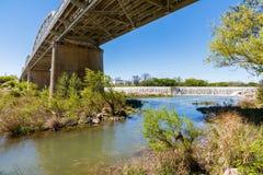 Мост Llano Техаса Стоковые Изображения