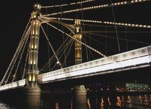 мост london albert Стоковое Фото