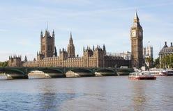 мост london westminster ben большой Стоковая Фотография RF