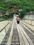мост luding Стоковые Изображения RF