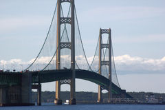 Мост Mackinac стоковое фото