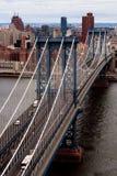 мост manhattan стоковая фотография