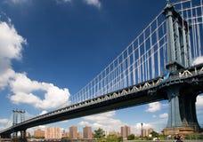 мост manhattan Стоковое Фото