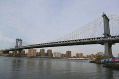 мост manhattan Стоковые Изображения