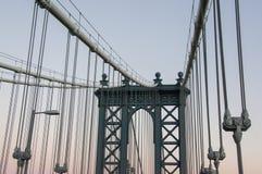 мост manhattan Стоковые Изображения RF