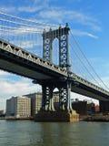 мост manhattan New York Стоковые Фотографии RF