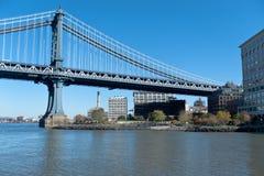 мост manhattan New York стоковое изображение