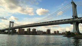 мост manhattan New York Стоковое Фото