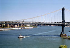 мост manhattan New York стоковое фото rf