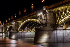 Мост Margit в Будапеште Стоковое Фото