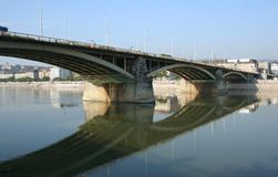 мост margit Стоковая Фотография RF