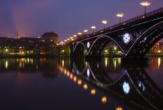 мост maribor старый стоковое изображение rf