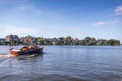 Мост Melkweg в Purmerend, Нидерландах Стоковая Фотография