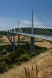 мост millau стоковое изображение rf