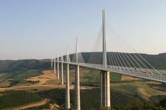 мост millau Стоковые Фотографии RF