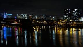 Мост Morrison, Портленд, Орегон, США стоковые изображения rf