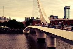 Мост mujer madero Puerto Стоковые Фото